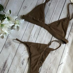 Dark tan bikini ☀️